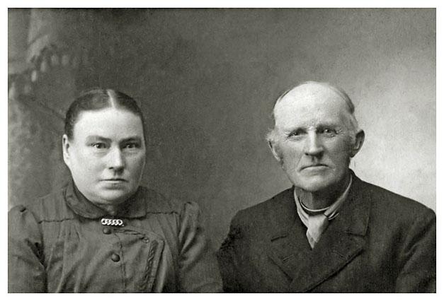 Maren og Christian Jensen, 1920